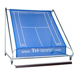 Tri-tennis® XXL Tennis Wall (Blue Transparent)