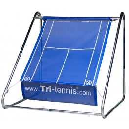Tri-tennis® PRO Tennis Wall (Blue - Mesh canvas)